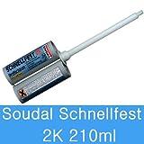 Soudal Schnellfest 2 Komponeten Polyurethan-Schnellschaum Zargenschaum 210 ml
