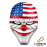 SYMTOP Halloween Party Maske Props Kostüm Heist Dallas Joker Requisite Cosplay Clown Horror Gesichtsmaske