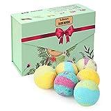 Liberex Badebomben - Geschenk Set mit 6 Düften für Frauen Kinder, von FDA Genehmigt, 6 x 100g