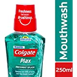 Colgate Plax Fresh Mint Mouthwash - 250 ml with Free Colgate Maxfresh - 80 g Worth Rupees 49