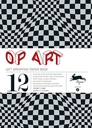 OP ART: gift and creative paper book Vol. 4 (Gift Wrapping Paper Book) by Pepin van Roojen (Illustrated, 16 Oct 2012) Paperback