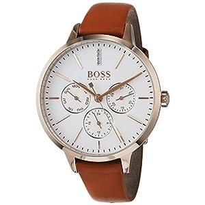 Hugo BOSS Reloj Multiesfera para Mujer de Cuarzo con Correa en Cuero 1502420