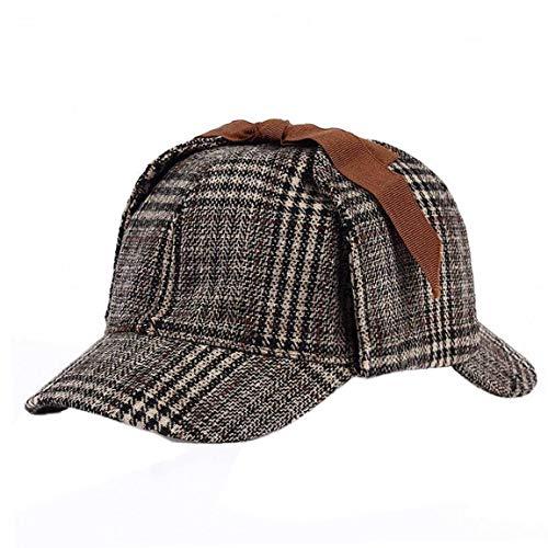 Unisex Sherlock Holmes Detective Hat Cosplay Zubehör Berets Zwei Brims Beret - Sherlock Holmes Hut Kostüm