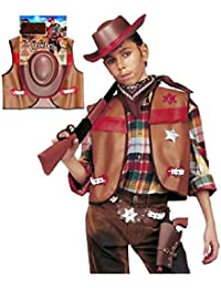 Set Sheriff Kostüm Karneval Kinder Jungen Far West * 20031