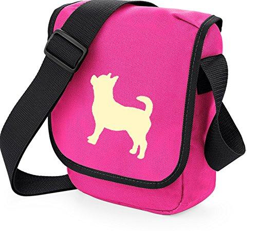 Bag Pixie - Borsa a tracolla unisex adulti Chi Cream on Pink