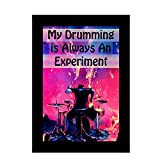 Huppme My Drumming Wall Poster With Fram...
