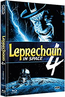 Leprechaun 4 - In Space [Blu-Ray+DVD] - uncut - auf 444 limitiertes Mediabook Cover A [Limited Collector's Edition] [Limited Ed