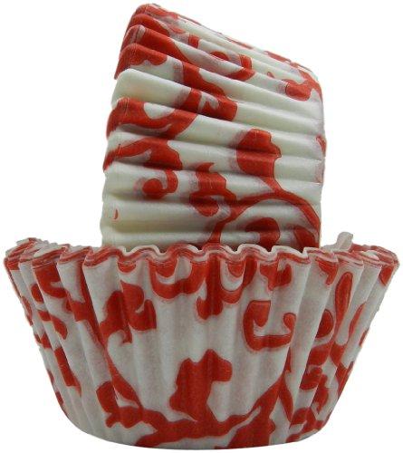 Regency Wraps Backförmchen, fettdicht, Rot, 40 Stück