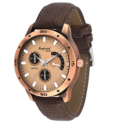 Imperial Club Analogue Gold Dial Men's Watch – Wtm-001