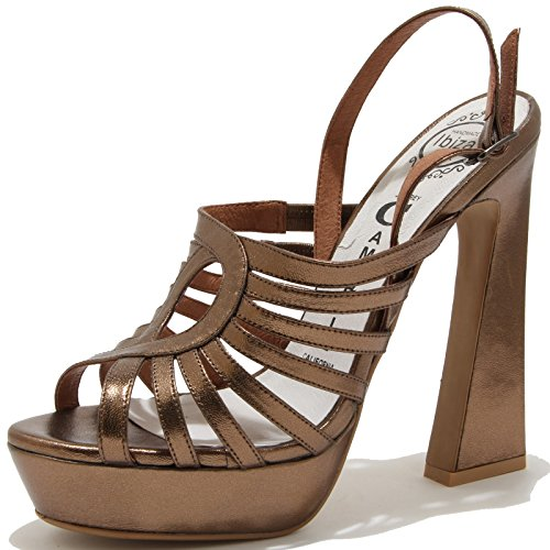 78262 sandalo JEFFREY CAMPBELL VERBINA scarpa donna shoes women Bronzo