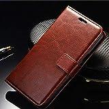Xiaomi Redmi 5 - Redmi 5 Flip Cover Things United Leather Case. Premium