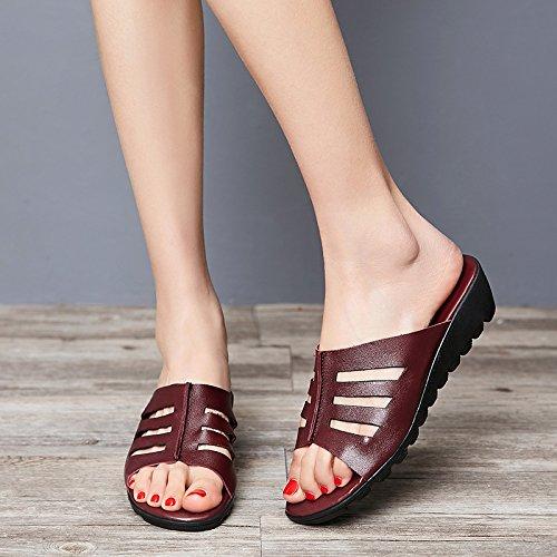 Zyushiz Ding Der Koreanische Outdoor Hausschuhe 40eu Schuhe Minimalistischen Stil Sandalen Strand Version rrndqw1C