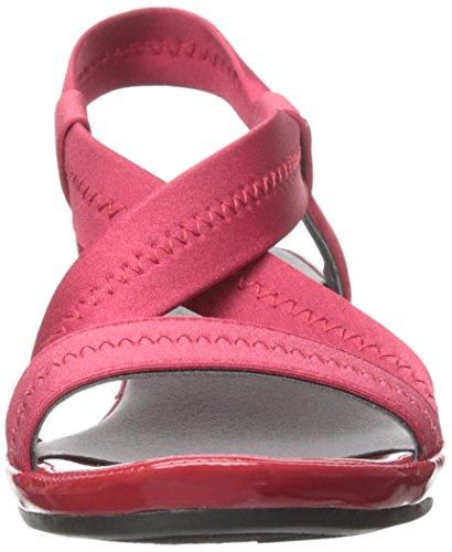 Life Stride Debutante Damen Synthetik Keilabsätze Sandale Red