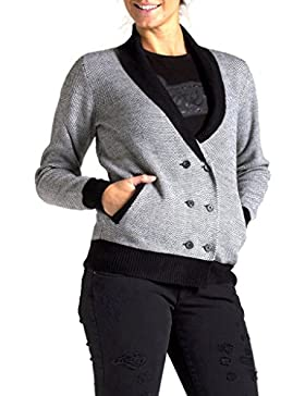 Carrera Jeans - Chaqueta De Punto T8930241A para mujer, ajuste regular, manga larga