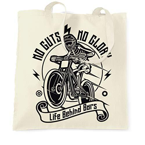Träger Laufrad (Tim And Ted Radfahren Tragetasche No Guts No Glory Mountainbike Bike Natural One Size)