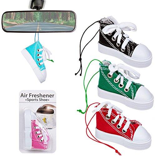 Preisvergleich Produktbild Lufterfrischer, Sportschuh - Converse Style - Zufällige Farbe - Zu Hause oder Auto