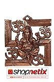 #6: Shopnetix Wall Hanging Of Lord Ganesha on Swastik with Om Showpiece
