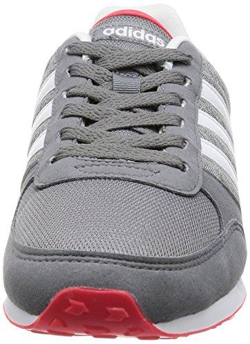 adidas City Racer W, Scarpe da Ginnastica Donna Grigio (Grey/Ftwwht/Msilve)