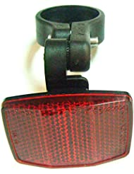 Reflector Reflectante catadioptrico trasero BTT MTB bici bicicleta Rojo