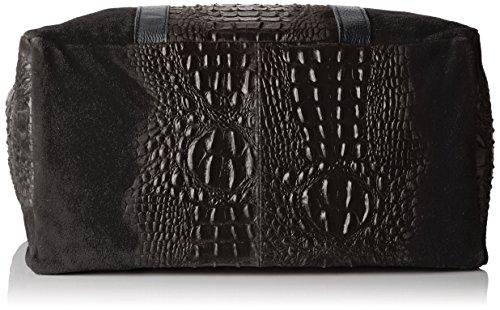 Chicca Borse 80043, Borsa a Mano Donna, 62 x 36 x 21 cm (W x H x L) Nero