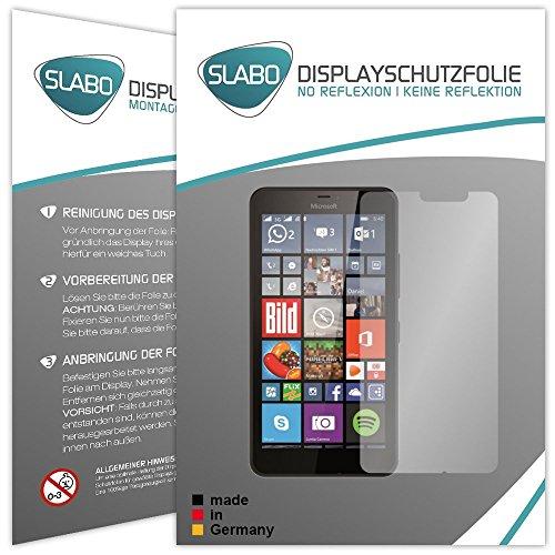 4 x Slabo Bildschirmschutzfolie Microsoft Lumia 640 XL Bildschirmschutz Schutzfolie Folie