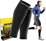 Calf Compression Sleeve for Men & Women, Best Footless...