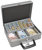 Wedo 149658012 Coffret caisse à monnaie 300 x 240 x 90 mm Gris