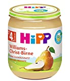 HiPP Früchte Williams-Christ-Birne, 6er Pack (6 x 125 g)