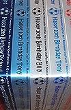 Premier League Fußball 1-Kuchen, Geschenkpapier-Band Team für alle jeder Name/Nachricht, WBA