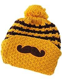 toyobuy Knit de la moda de invierno de lana de mujer Cute Tapa Skullies Beanies