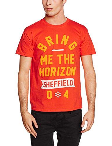 Rockoff Trade Herren T-Shirt Big Text Orange