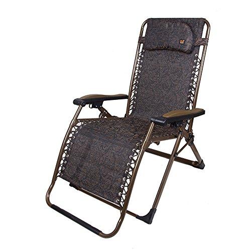 Stühle Xiaolin Nickerchen Büro Sommer kühlen ältere Schwangere Frau Balkon Portable (Farbe : 02)