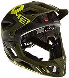 MET Parachute Helmet matt Black/Green Kopfumfang 59-62 cm 2016 Fullface Helm