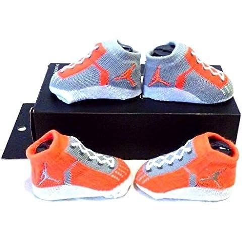 Nike Air Jordan Infant Baby Boys Booties Lava Size: 0-6
