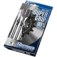 Harrows Dardos «Super Grip» de tungsteno, Unisex, DATS23, plata, 23 g