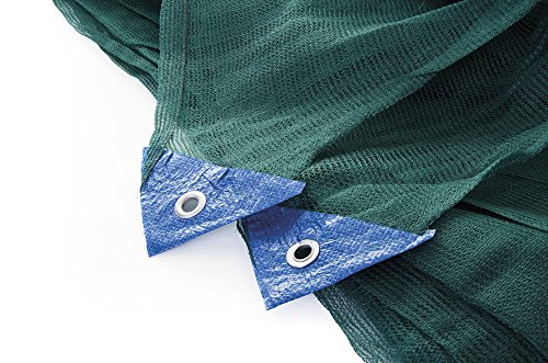 Redes para recoger aceitunas de tela ANTISPINA, toallas Dim. 8x 10, verde