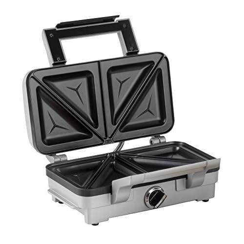 51OnLj0yyOL. SS500  - Cuisinart 2-in-1 Sandwich and Waffle Maker, 1000 W - Silver
