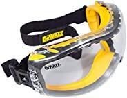 DeWalt Concealer Safety Goggles, DPG82-11C, Clear