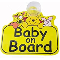 Fusion Baby On Board Pooh Auto Accessory