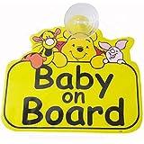 Fusion Baby On Board Pooh Auto Accessory