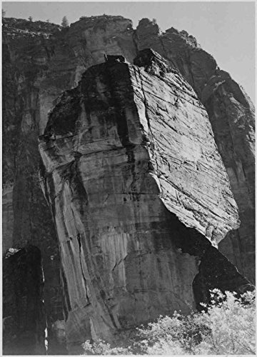 Das Museum Outlet-Adams-Zion National Park Utah, gespannte Leinwand Galerie verpackt. 29,7x 41,9cm