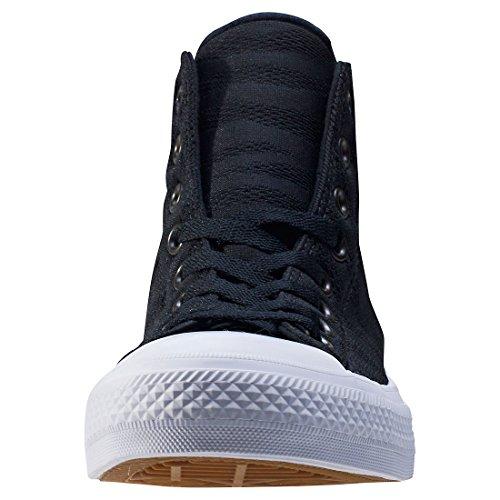 Converse Unisex-Erwachsene Chuck Taylor All Star Ii Hohe Sneaker Schwarz