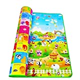 shree krishna Playmat Waterproof, Anti Skid, Double Sided Baby Crawling Mat Waterproof Double