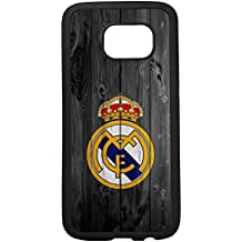 carcasas funda movil tpu compatible con samsung galaxy s7 edge real madrid