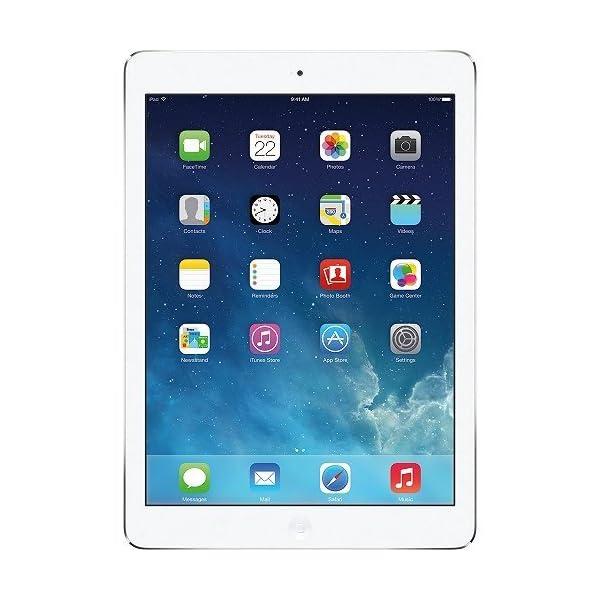 Apple iPad Air 16GB Wi-Fi – Silver (Renewed) 51OnOaiYe9L