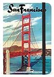 Cavallini Small notebook San Francisco 4x 6