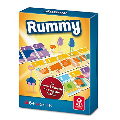 ASS Altenburger 22509581 - Rummy, Familienspiel