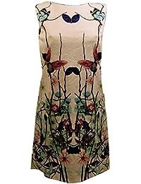 Abito Smanicato Stampa Fantasia- TG.Unica S M- Abbigliamento Donna- Made a738a3d35dc