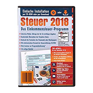 Aldi Steuerprogramm Einkommenssteuer 2018 - Steuer 2018 CD Software