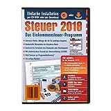Einkommensteuer-Programm für das Steuerjahr 2018; Download der kompletten Software oder Installation per CD-ROM --- Die zuverlässige Unterstützung bei Ihrer Steuererklärung --- Download der kompletten Software möglich --- Installation ohne CD-Laufwer...